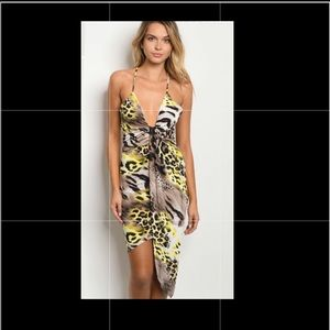 Summer ANIMAL Print Dress